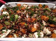Quinoa salad with dried Iranian lime - panview