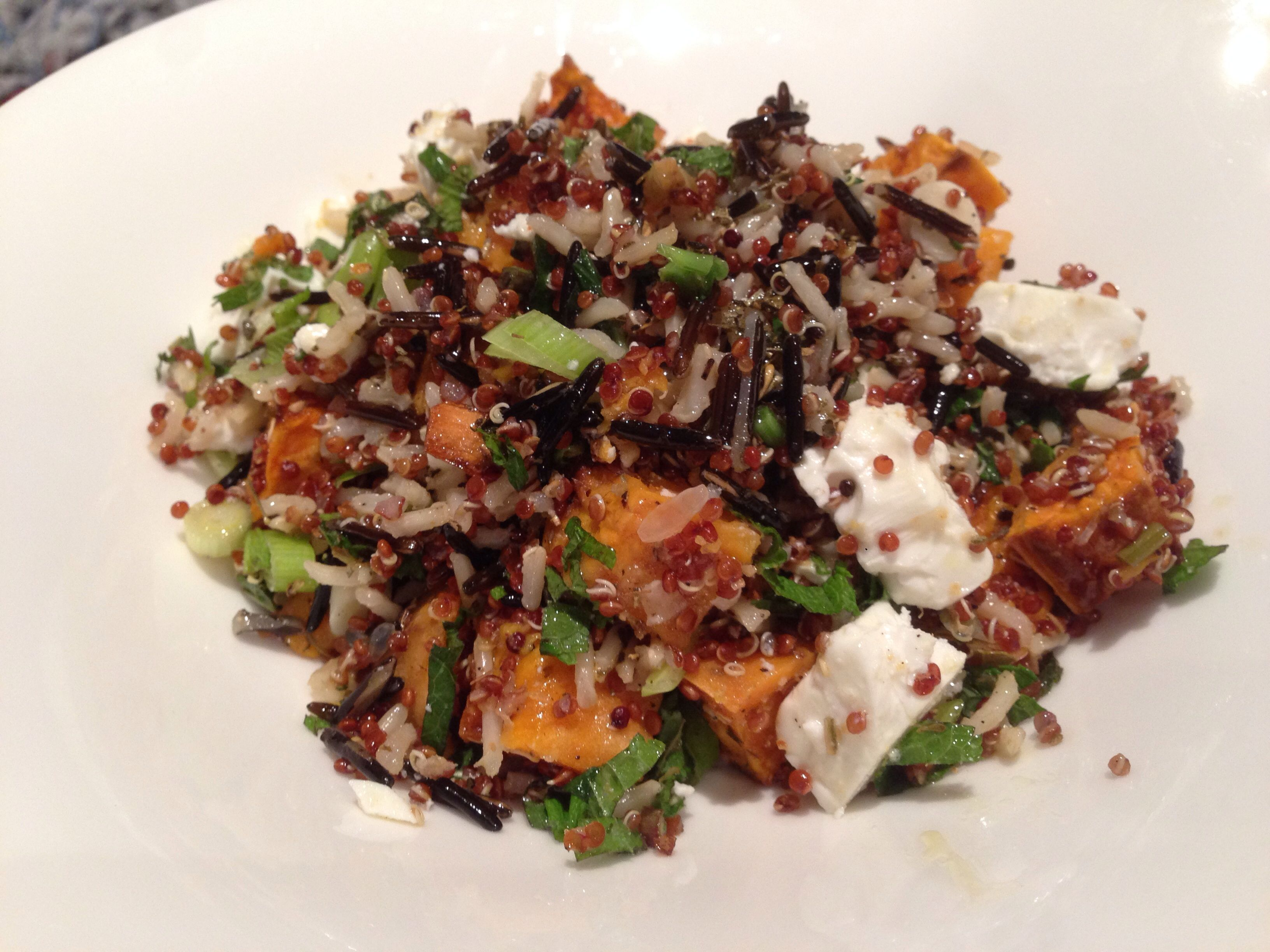 rice ottolenghi red rice and quinoa recipes dishmaps ottolenghi red ...