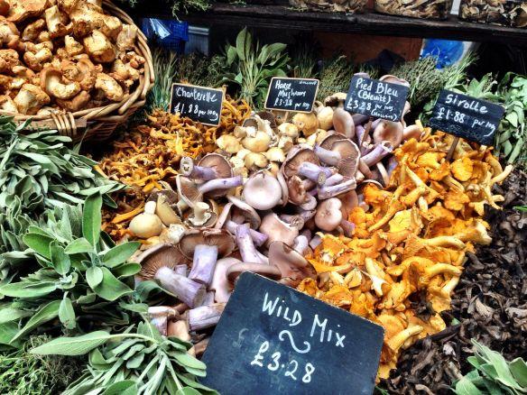Mushrooms - Borough Market