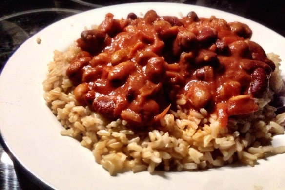Quick Chilli and Brown Rice