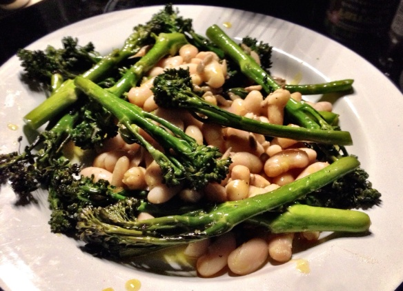 Tenderstem Broccoli and White Beans