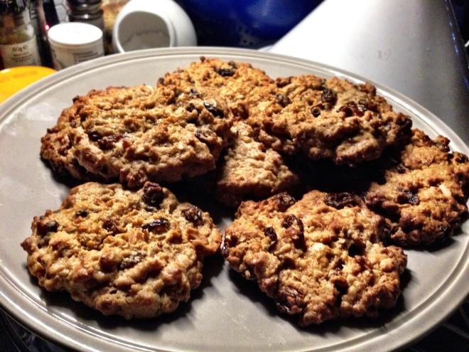 Oaty, Fruity, Nutty Cookies