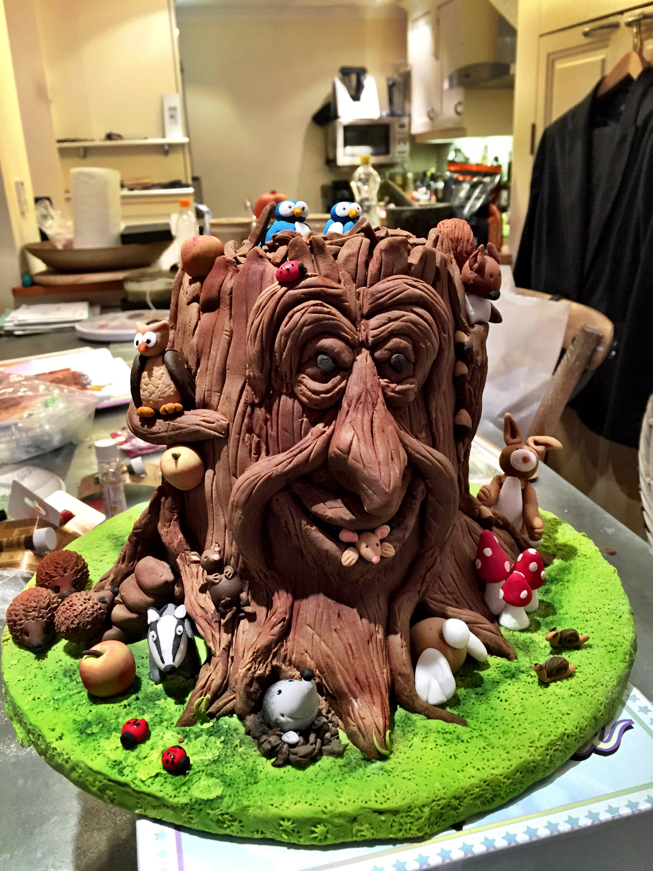 My Daughter's Enchanted Tree Cake | Sieved